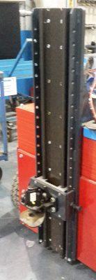 Schienen plus Rahmen in Höhe verstellbar bis 120 cm
