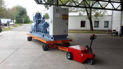 Elektroschlepper - Rangierhilfe - Industrieschlepper - Elektro-Schlepper - Zughilfe - Manövrierhilfe - Rangierschlepper - Deichselschlepper - Anhängerrangierer - Schwerlastschlepper - Industrie - Fertigung