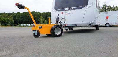 Multi-Mover L25 - caravane - remorque - manoeuvre - rang - Tracteur électrique - tracteur pousseur électrique - chariot manutention electrique - Tireur pousseur électrique
