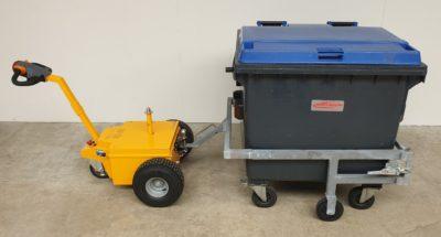 Multi-Mover L25 Conan - Dolly - Elektroschlepper - Rangierhilfe - Industrieschlepper - Elektro-Schlepper - Zughilfe - Manövrierhilfe - Rangierschlepper - Deichselschlepper - Container versetzen - Müllgroßcontainer transportieren - Müllcontainer ziehen