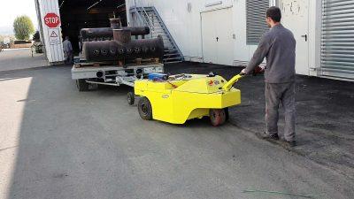 Tractor eléctrico Multi-Movers 3XL 30To - Trainatore elettrico - rimorchiatore elettrico - movimentatore carichi pesanti