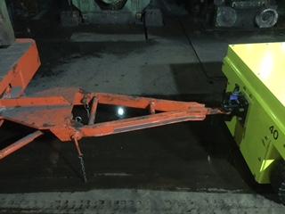 3XL Rockinger Kupplung - Triangel-Deichsel - Zugmaul - Zugöse mit Sicherungsbolzen - Flanschkupplung - Anhängerkupplung