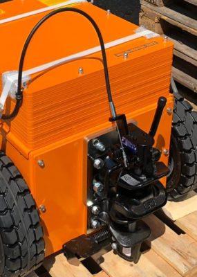 Rockinger Kompaktkupplung Kabelbedienung und Fußbedienung