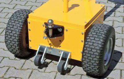 Anti wheely wheels SPD Galvinised