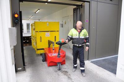Multi-Mover XXL10To - Elektroschlepper - Rangierhilfe - Industrieschlepper - Elektro-Schlepper - Zughilfe - Manövrierhilfe - Rangierschlepper - Deichselschlepper - Anhängerrangierer - Schwerlastschlepper