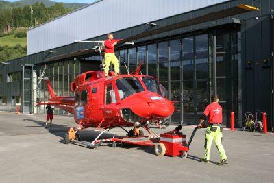 Multi-Mover XL Heliport Helicopter - Elektroschlepper - Rangierhilfe - Industrieschlepper - Elektro-Schlepper - Zughilfe - Manövrierhilfe - Rangierschlepper - Deichselschlepper - Anhängerrangierer