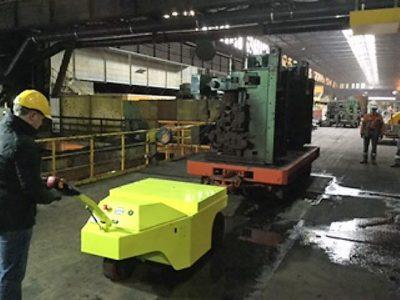 trainatore elettrico Multi-Mover 3XL 30To - rimorchiatore elettrico - industria - carello per trasporto pesante - movimentatore carichi pesanti