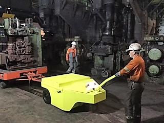 поводковые электрические тягачи Multi-Mover 3XL 30To