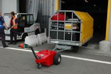 tracteur electrique - Multimover - manoeuvre de chariot à bagages - multi-mover - Remorque à tirer - tractent des remorques