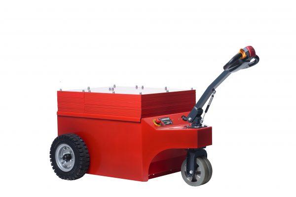 - Tracteur électrique - tracteur pousseur électrique - chariot manutention electrique - Tireur pousseur électrique - Multi-Mover XXL15To 042