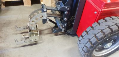 S & W Kupplung Hydraulic (Gewicht Paket 360 Kg Inkl)