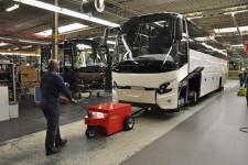 Multi-Mover VDL Bus - Car - manoeuvre - rang - - Tracteur électrique - tracteur pousseur électrique - chariot manutention electrique - Tireur pousseur électrique