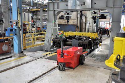 Multi-Mover XXL Nedtrain - Tracteur électrique - tracteur pousseur électrique - chariot manutention electrique - Tireur pousseur électrique - l'industrie