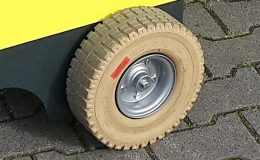 Solid Continental SC20 K125/75-8/3.00 Non Marking, w120mm Ø 375 mm