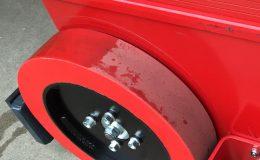 XL Vulcollan Schwerlastrad - Multi-Mover - Bereifung - Rad - Räder - Elektroschlepper - Rangierhilfe - Industrieschlepper - Elektro-Schlepper - Zughilfe - Manövrierhilfe - Rangierschlepper - Deichselschlepper - Anhängerrangierer - Schwerlastschlepper