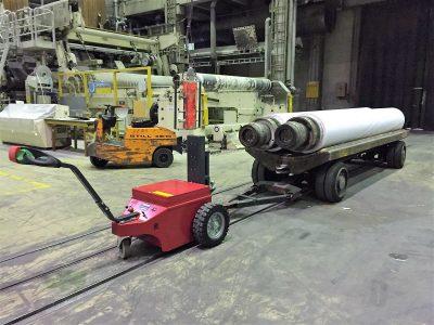 Multimover XL50 - Metallindustrie - Industrie - Rangierhilfe - Industrieschlepper - Elektro-Schlepper - Zughilfe - Manövrierhilfe - Rangierschlepper - Deichselschlepper - Anhängerrangierer - Schwerlastschlepper