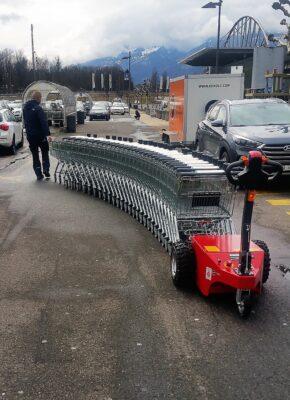 Multi-Mover XL50 Trolley Kupplung
