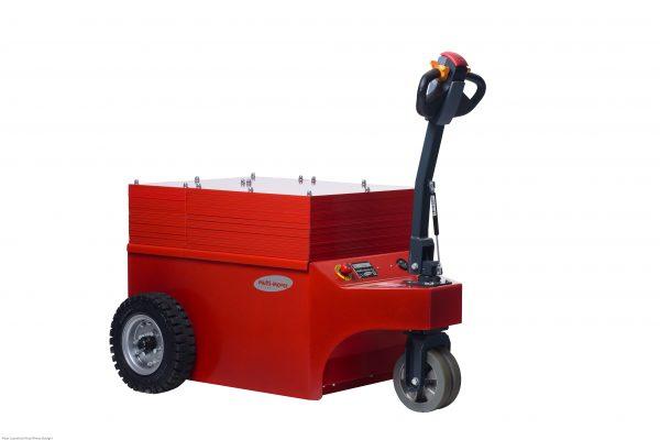 - Tracteur électrique - tracteur pousseur électrique - chariot manutention electrique - Tireur pousseur électrique