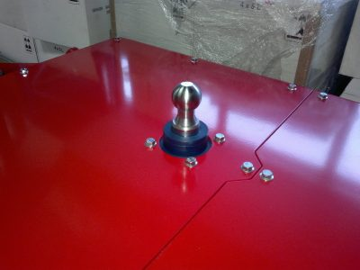 Multimover - hydraulic adjustable trailer hitch - ball head tow hitch