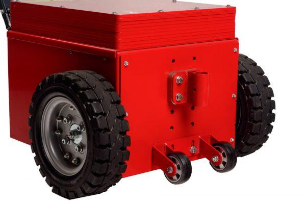 Anti wheely wheels XL35/50 Red